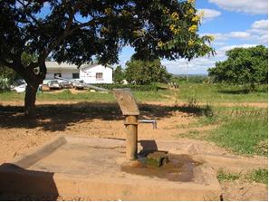 Water collection pump