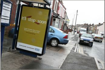 Bus Shelter Advert