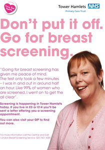 in breast screening