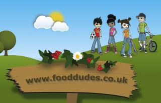food dudes cartoon website