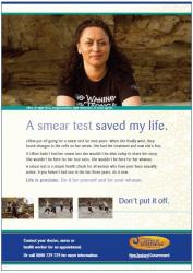 A Smear Test Saved my Life poster