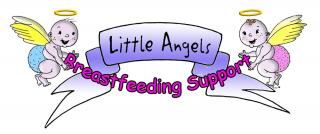 Little Angels cherub graphic
