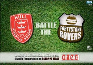 Hull vs Fortystone Rovers poster