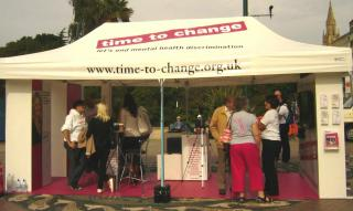 time to Change Roadshow Tent