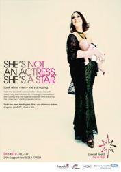 She's Not an Actress poster