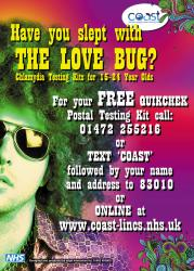 Have you slept with the Love Bug poster