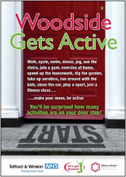 woodside gets active leaflet