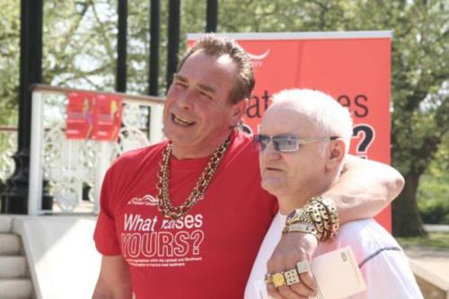 Bobby George and man